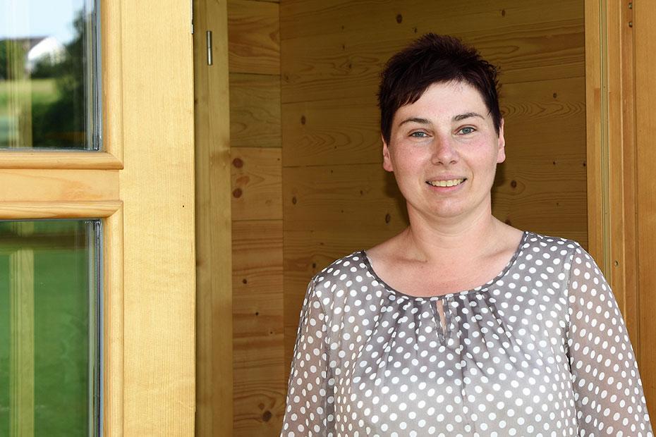 Anja, Teamleiterin